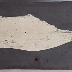 Nantucket Sperm Whale Decorated Foot Locker