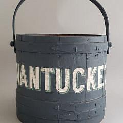 28-2674 Nantucket Painted Firkin A