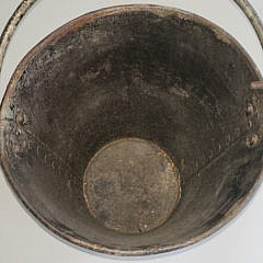 English Copper Banded Peat Bucket, 19th Century