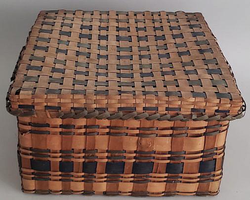 34-4940 New England Woven Basket A
