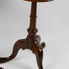 Pair of Contemporary Mahogany Brandy Stands
