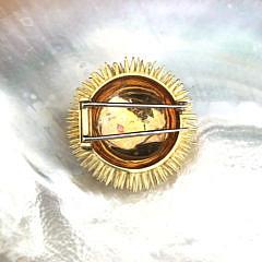 Tiffany & Co. 18k Yellow Gold Sea Urchin Pin, circa 1960s