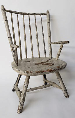 39-4901 Childs Windsor Chair A