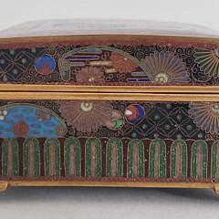 Vintage Chinese Cloisonné Box