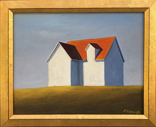 """41460 Joan Albaugh Oil """"The Overlook"""" A IMG_6842(1)"""