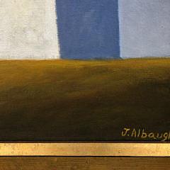 "Joan Albaugh Oil on Board ""The Overlook"""