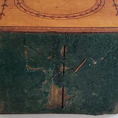 Satinwood Inlaid Sewing Box, 19th Century