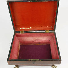 American Mahogany Ladies Box, circa 1840