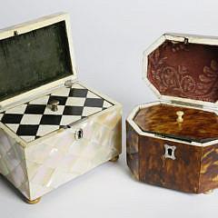Two 19th Century Tea Caddies