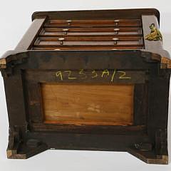 "Late Georgian Mahogany Salesman's Sample ""Wellington"" Chest of Drawers, mid 19th century"
