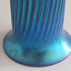 Lundberg Studios Art Glass Vase, Davenport, California