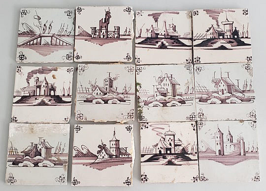 4878 12 Ceramic Tiles A