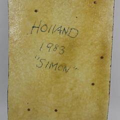 "Tom Holland Mixed Media on Fiberglass ""Simon"""