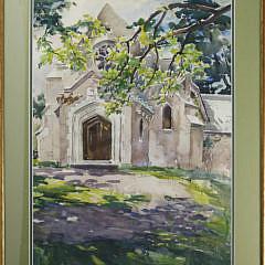 5-3399 W. Lester Stevens Watercolor A_MG_0453