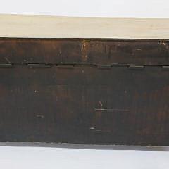 English Sheraton Decorated Cupboard Server, circa 1820