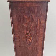 582-1865 Inlaid Pipe Box A