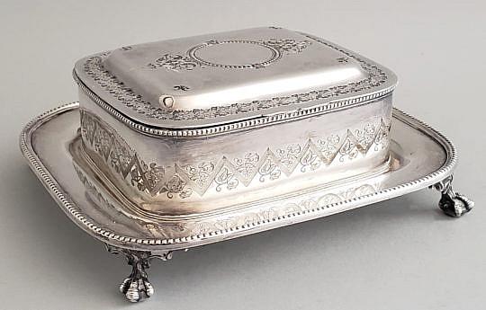 59-2674 Silver Plate Box A