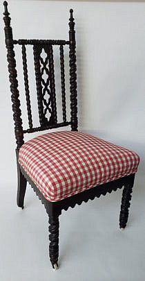62-4901 Gothich Bobbin Turned Chair A