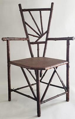 999 Bamboo Corner Chair A