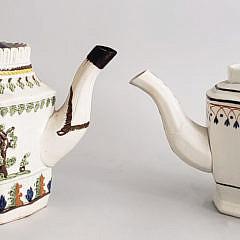 30-4896 French Soft Paste Tea Pots A