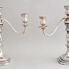 41-2674 Sterling Silver Candelabra A