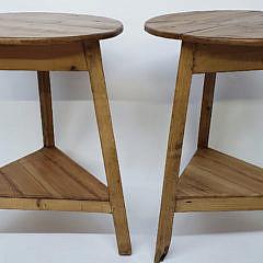 41-3978 Pair Cricket Tables A