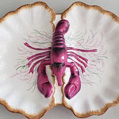 11-2674 Limoges Lobster Dish A