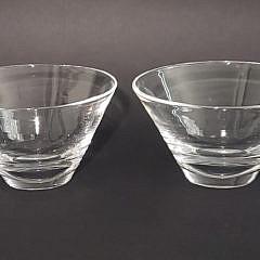 580-1865 Steuben Finger Bowls A