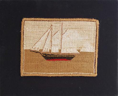 9-4954 Ship Embroidery A