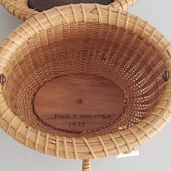 Paul Whitten Nantucket Cocktail Purse Friendship Basket