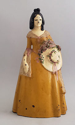 581-1865 Woman Doorstop A