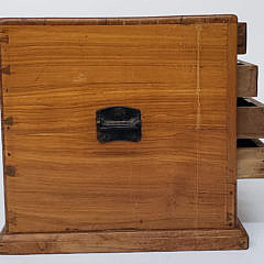 Antique Ten Drawer Watch Maker's Jeweler's Cabinet