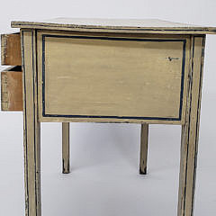 English Regency Paint Decorated Dressing Table, 19th Century
