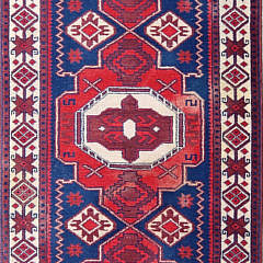 Vintage Turkish Tribal Carpet Runner