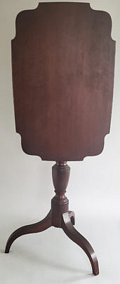 1413-54 Mahogany Candlestand A