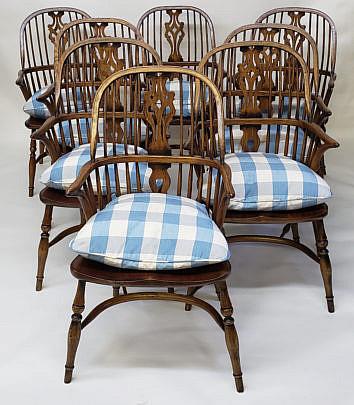 68-4901 English Windsor Chairs A
