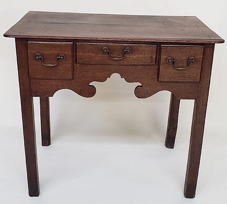 114-4901 English Oak Dressing Table A