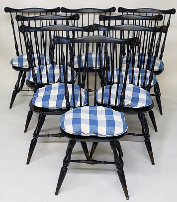 34-4901 Wayne Pratt Windsor Chairs A