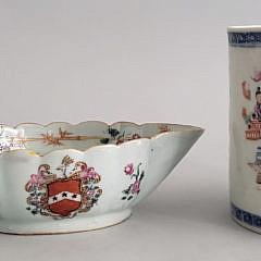 7-4905 Chinese Export Mug Sauc Boat A