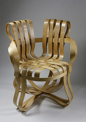 1-4950 Knoll Frank Gehry Apple Basket Cross Check Armchair A_MG_1108