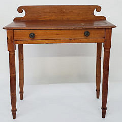2424-955 Pine Side Table A