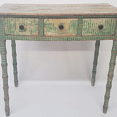 63-4901 Antique Grain Writing Table A