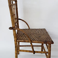Heywood Brothers Bamboo Side Chair