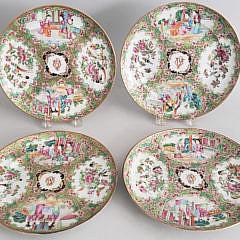 8-4905 Rose Medallion Plates A