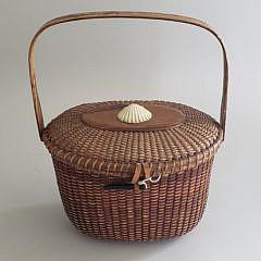 1-4760 Sherwin Boyer Friendship Basket A