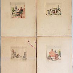 1-4969 Doris Richard Beer Watercolors A