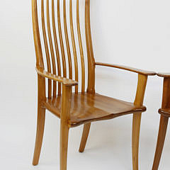 Pair of Stephen Swift High Back Armchairs