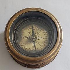 Stanley London Naval Ship's Desk Compass
