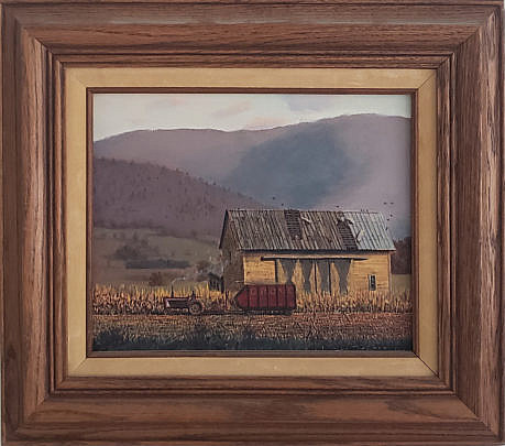 100-4962 Christopher Robbins Harvest Painting A