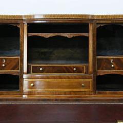American Federal Style Tambour Desk, circa 1880